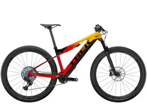 Trek E-Caliber 9.9 XX1 AXS M (29  wheel) Marigold/Radioactive Red/Black